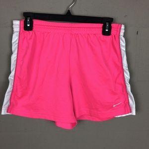 Nike Women's Workout Shorts Size M Pink RL5